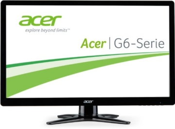 Acer G226HQLIBID 55,9cm (21,5 Zoll) Monitor (VGA, DVI, HDMI, 2ms Reaktionszeit) schwarz - 1