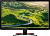 Acer G246HLFbid 61 cm (24 Zoll) Monitor (VGA, DVI, HDMI, 1ms Reaktionszeit, EEK A) schwarz/rot - 1