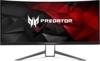 Acer Predator X34 (X34bmiphz) 87 cm (34 Zoll) Curved Monitor (Displayport, HDMI, USB 3.0, UltraWide QHD Auflösung 3,440 x 1,440, 4ms Reaktionszeit, NVIDIA G-Sync, Lautsprecher, EEK C) silber/schwarz - 1