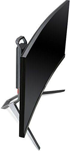 Acer Predator X34 (X34bmiphz) 87 cm (34 Zoll) Curved Monitor (Displayport, HDMI, USB 3.0, UltraWide QHD Auflösung 3,440 x 1,440, 4ms Reaktionszeit, NVIDIA G-Sync, Lautsprecher, EEK C) silber/schwarz - 7
