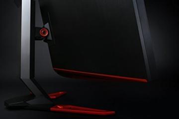 Acer Predator Z35 89 cm (35 Zoll) Curved Monitor (HDMI, USB 3.0, 4ms Reaktionszeit, Full HD Auflösung 2.560 x 1.080, bis zu 200 Hz, NVIDIA G-Sync, EEK A) schwarz/rot - 9