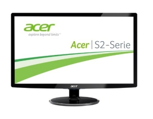 Acer S242HLCBID 60,1 cm (24 Zoll) Monitor (VGA, HDMI, 2ms Reaktionszeit) schwarz - 1