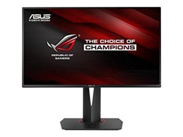 Asus ROG PG278Q 68,6 cm (27 Zoll) Monitor (WQHD, DisplayPort, 1ms Reaktionszeit, Nvidia G-Sync) schwarz - 1