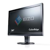 Eizo CS240-BK 61 cm (24 Zoll) Monitor (VGA, DVI, HDMI, 7,7ms Reaktionszeit) schwarz - 1