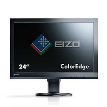 Eizo CS240-BK 61 cm (24 Zoll) Monitor (VGA, DVI, HDMI, 7,7ms Reaktionszeit) schwarz - 3