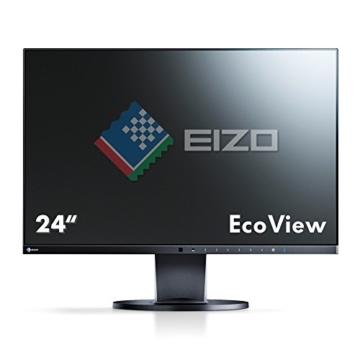 Eizo EV2450-BK 60 cm (23,8 Zoll) Monitor (DisplayPort, DVI-D, HDMI, D-Sub, USB 3.0, 5ms Reaktionszeit) schwarz - 3