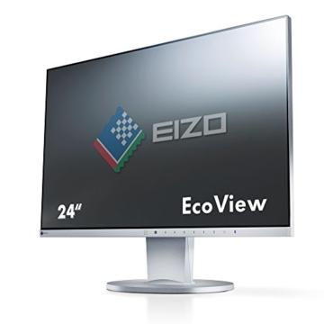 Eizo EV2450-GY 60 cm (23,8 Zoll) Monitor (DisplayPort, DVI-D, HDMI, D-Sub, USB 3.0, 5ms Reaktionszeit) grau - 1