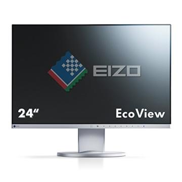 Eizo EV2450-GY 60 cm (23,8 Zoll) Monitor (DisplayPort, DVI-D, HDMI, D-Sub, USB 3.0, 5ms Reaktionszeit) grau - 3
