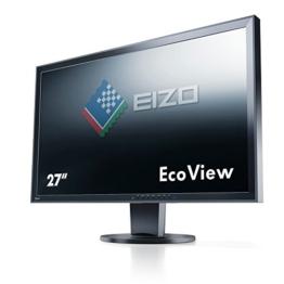 Eizo EV2736WFS3-BK 68,6 cm (27 Zoll) Monitor (DVI, USB 2.0, 6ms Reaktionszeit) schwarz - 1
