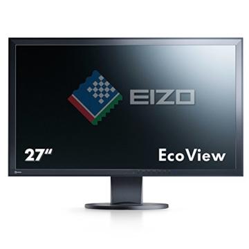 Eizo EV2736WFS3-BK 68,6 cm (27 Zoll) Monitor (DVI, USB 2.0, 6ms Reaktionszeit) schwarz - 2