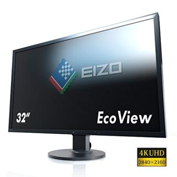Eizo EV3237-BK 80 cm (31,5 Zoll) Monitor (4K UHD, DVI, HDMI, 5ms Reaktionszeit) schwarz - 3