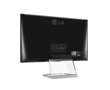LG 27MP77HM-P 68,58 cm (27 Zoll) LED-Monitor (HDMI, VGA, 5ms Reaktionszeit) schwarz/transparent/silber - 6