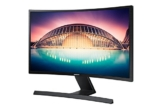 Samsung S24E500C 59,94 cm (24 Zoll) Curved Monitor (VGA, HDMI, 4ms, 60Hz, 1.920 x 1.080 Pixel)Schwarz-glänzend - 1