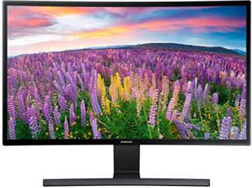 Samsung S27E510C 68,58 cm (27 Zoll) LED Curved Monitor (HDMI, D-Sub, 1.920 x 1.080 Pixel, 60 Hz Wiederholungsfrequenz, 4ms Reaktionszeit) schwarz - 1