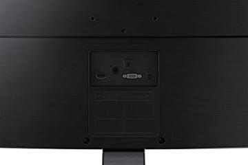 Samsung S27E510C 68,58 cm (27 Zoll) LED Curved Monitor (HDMI, D-Sub, 1.920 x 1.080 Pixel, 60 Hz Wiederholungsfrequenz, 4ms Reaktionszeit) schwarz - 9