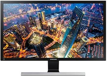 LED Monitor - Samsung U24E590D 59,94 cm (23,6 Zoll) Monitor (HDMI, 4 ms Reaktionszeit) schwarz - 1